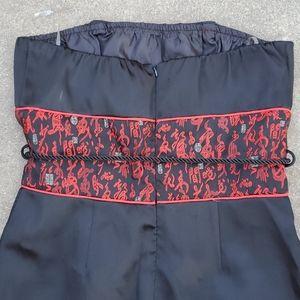 Forever 21 Dresses - Sexy silky oriental mini date night dress